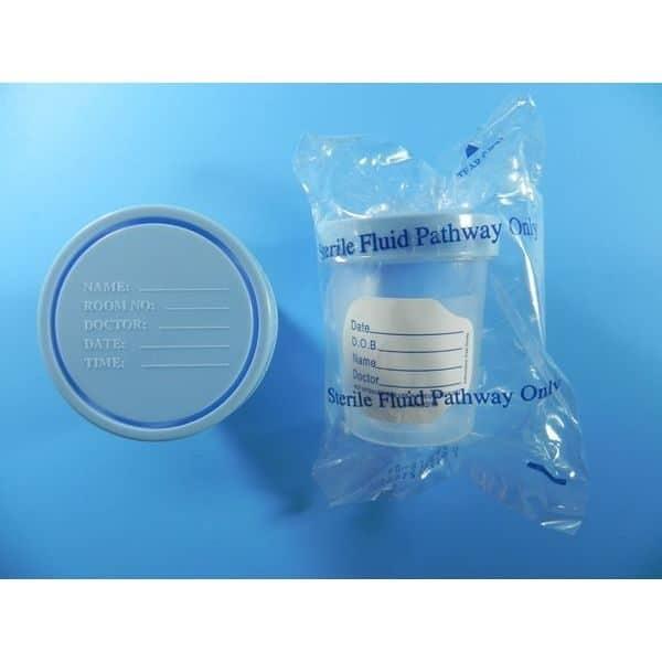 Specimen Sterile Containers