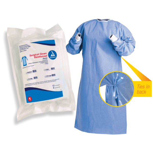 Surgical Gowns ANSI/AAMI PB70, Level 3 Protection