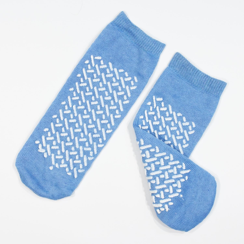 Double Sided Slipper Socks Non Skid Hospital Travel Slipper Socks