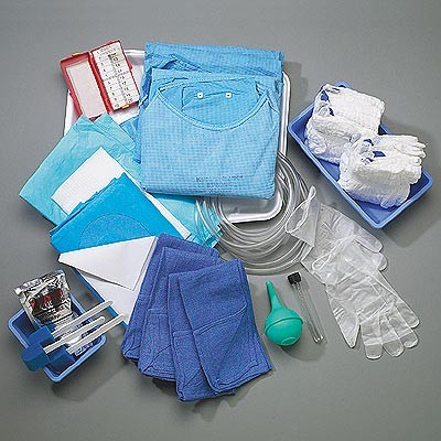 C Section Tray Ultrasound Gel Pack Maternity Pad Bm