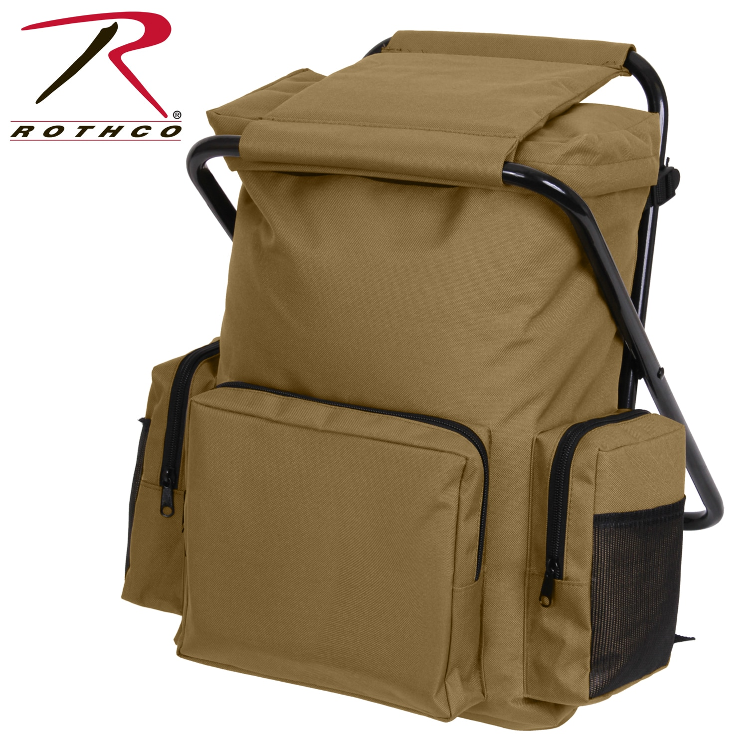Rothco Backpack And Stool Combo Pack The Backpack Has