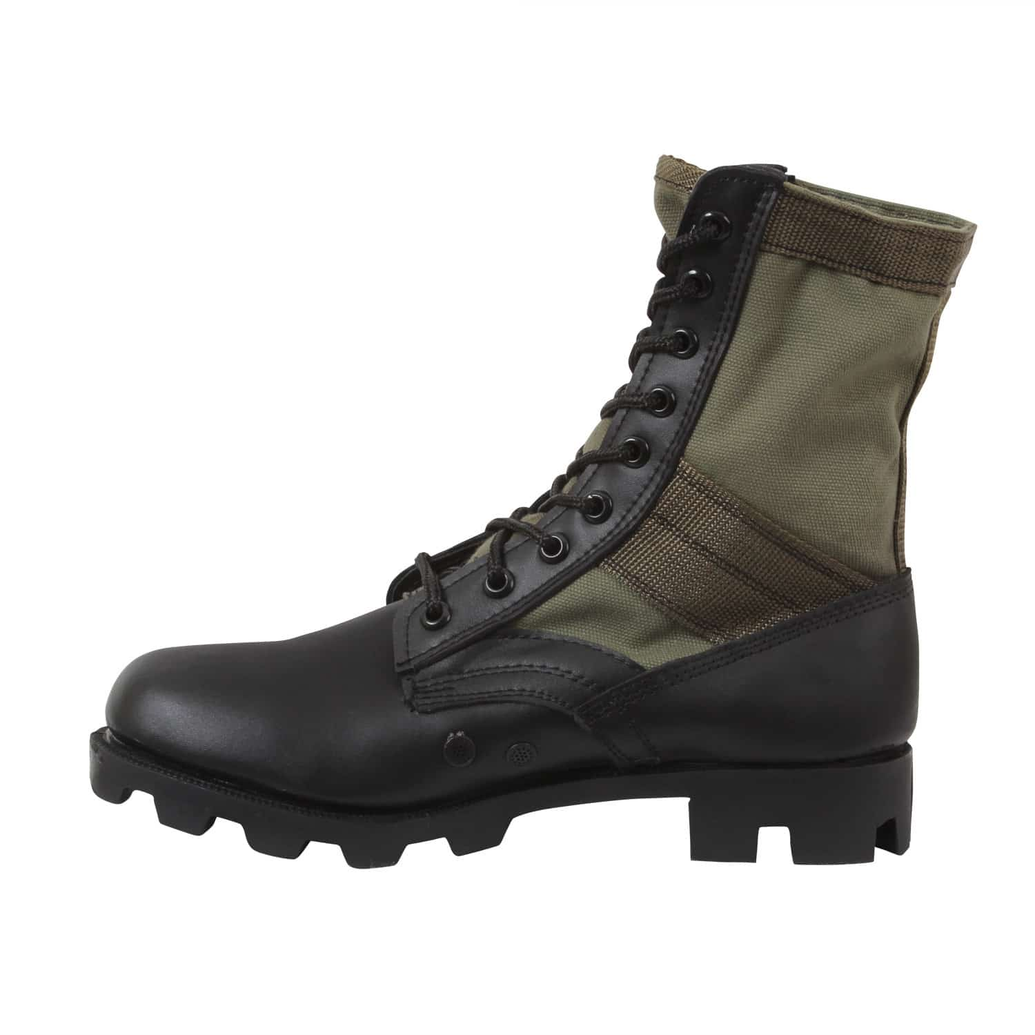 classic military jungle boots feature a canvas nylon. Black Bedroom Furniture Sets. Home Design Ideas