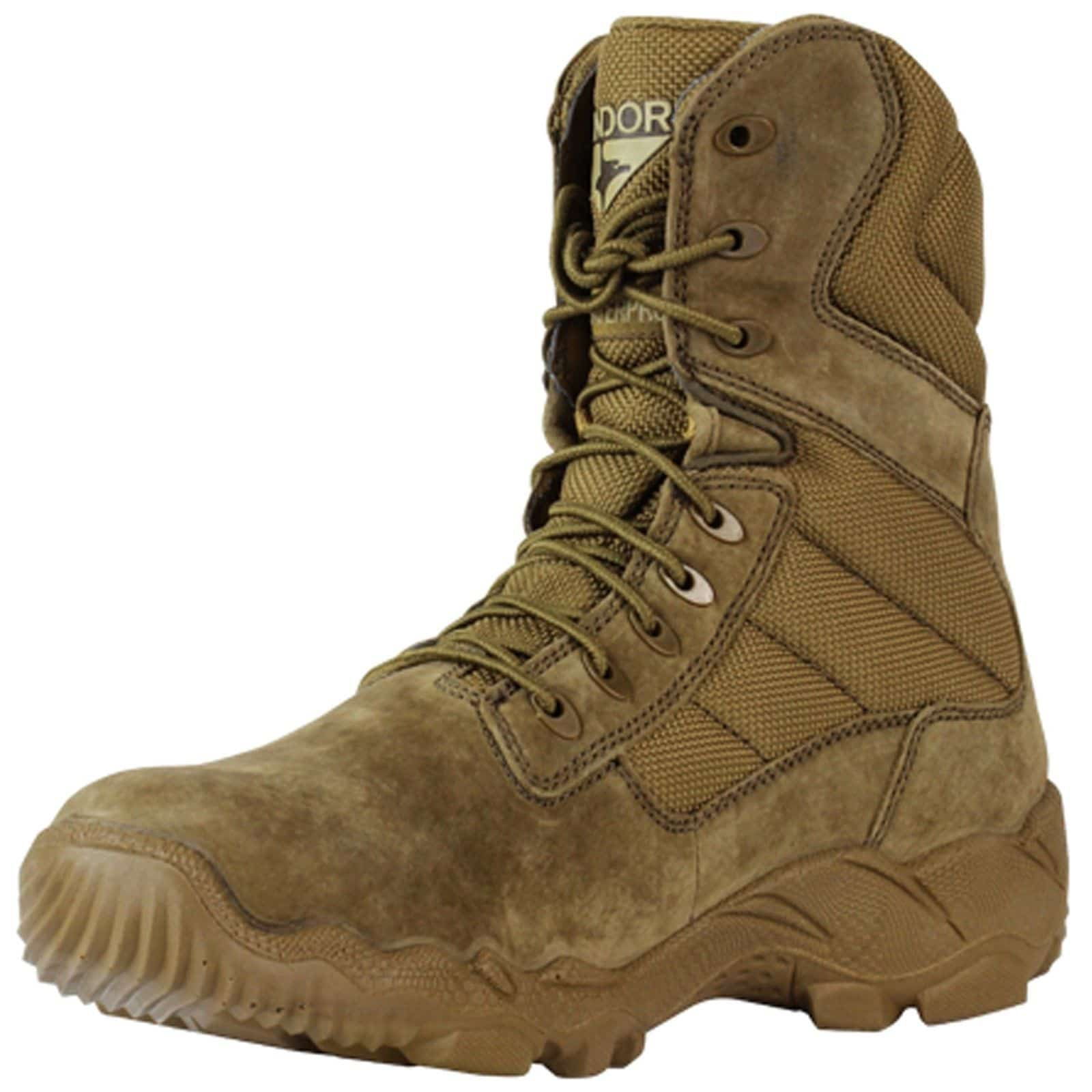 8b7e6c1b1af Bailey - Coyote Brown Tactical Boot