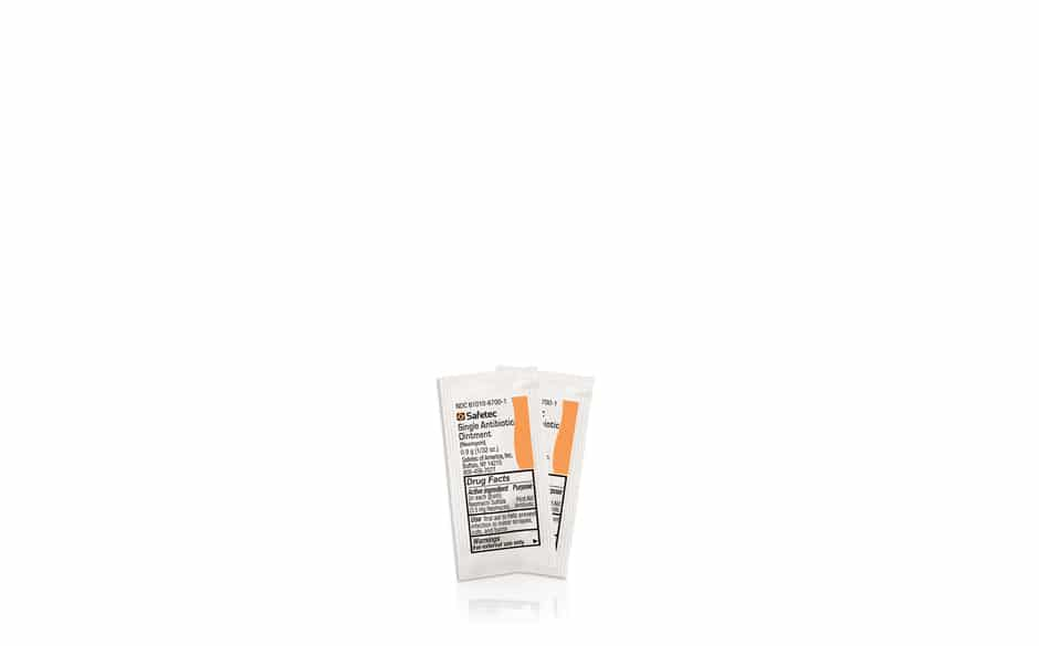 First Aid Antibiotic Ointment (Neomycin).9 gr Packet