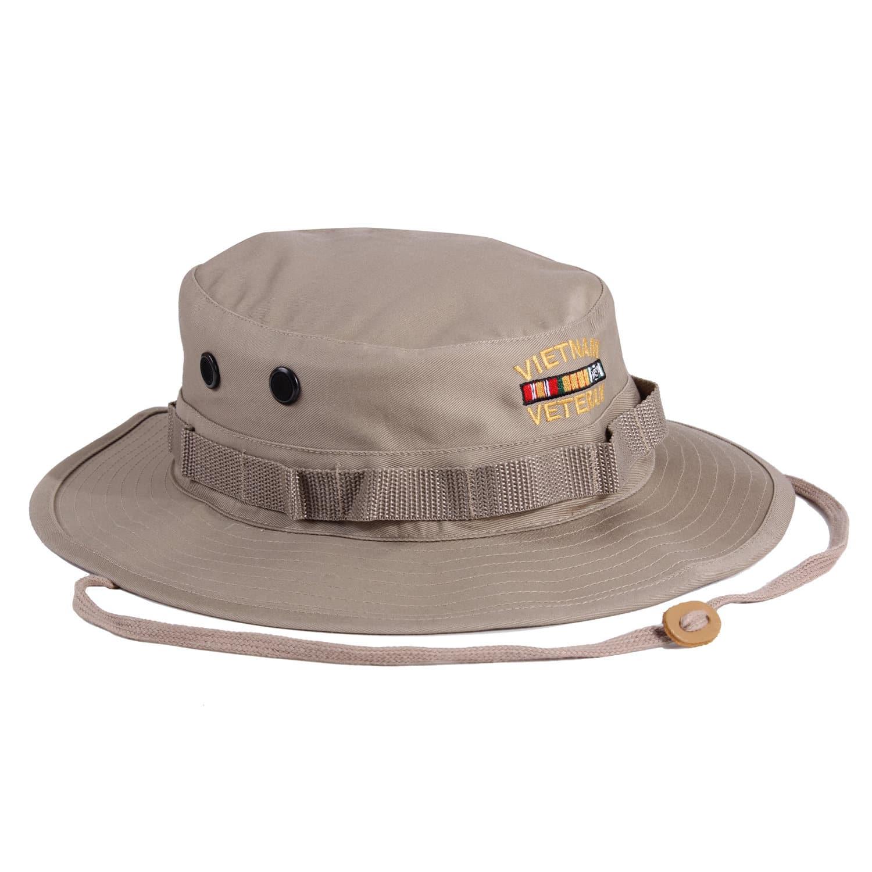 e2c969dd1be Vietnam Veteran Embroidered Boonie Hat