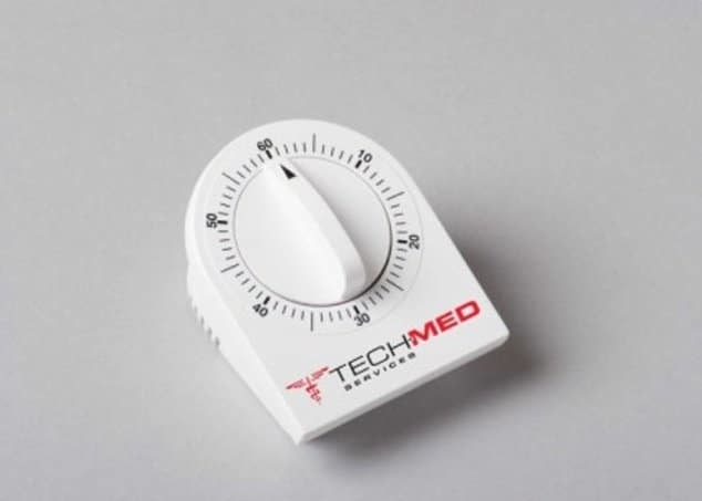 Minute Minder Long Ring Timer Mechanical White 60 Min #4450